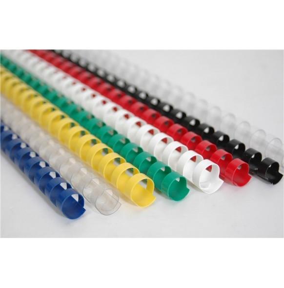 Пластмасови спирали за подвързване Ф-22mm