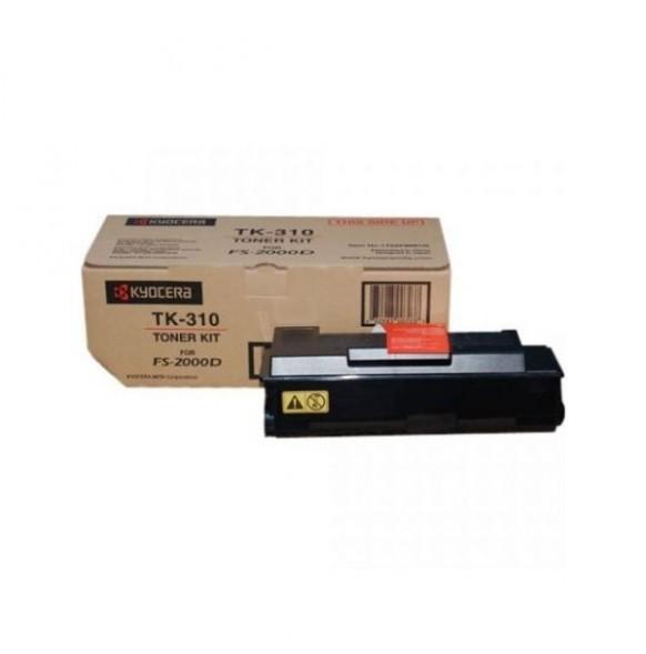 Зареждане на тонер касета Kyocera TK-310, FS-2000D/3900DN/4000DN