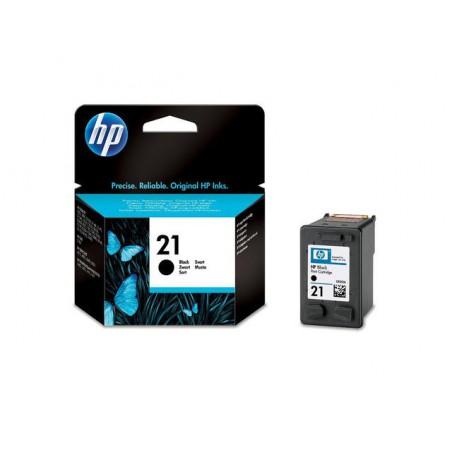 Мастилена касета HP 21 Black Черна