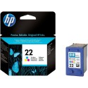 Мастилена касета HP 22 Inkjet Print Cartridge