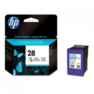 Мастилена касета HP 28 Inkjet Print Cartridge