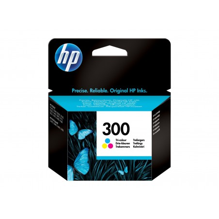 Мастилена касета HP 300 Tri-color Цветна