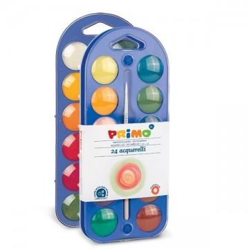Водни бои Primo - 12 цвята