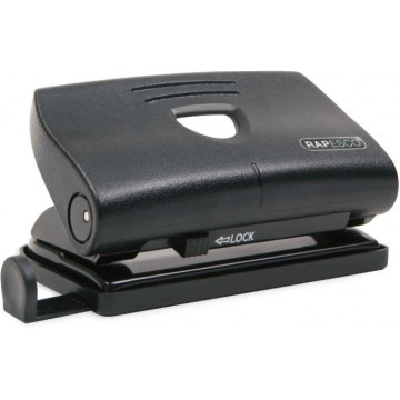 Перфоратор за хартия RAPESCO 810-P, 12 листа, черен