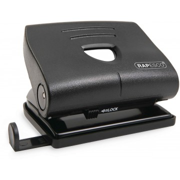 Перфоратор за хартия RAPESCO 820-P, 22 листа, черен