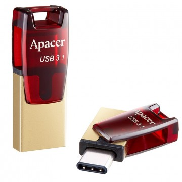 USB Флаш Памет 16GB Apacer Type C + USB 3.1