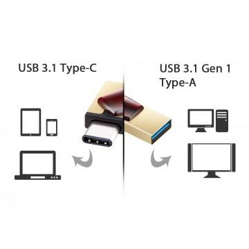 USB Флаш Памет 16GB Apacer Type C + USB 3.1