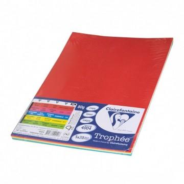 Цветна копирна хартия, А4, 80 г/м2