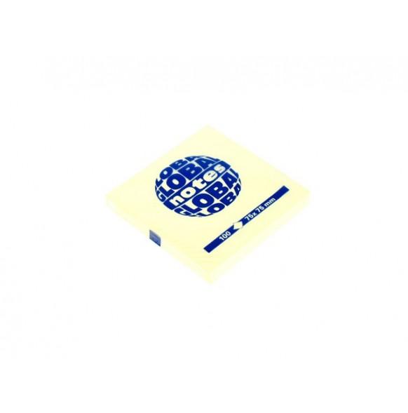 Лепящи листчета, пастел, 75х75 мм, 80 л.