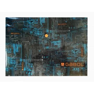 Папка с копче А4, Gabol Style, синя