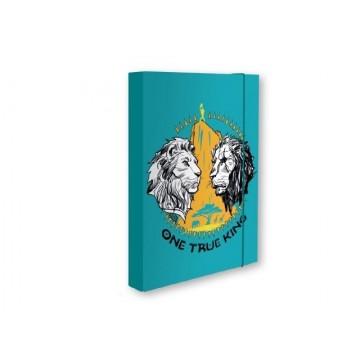 Кутия с ластик Lion King / Цар лъв
