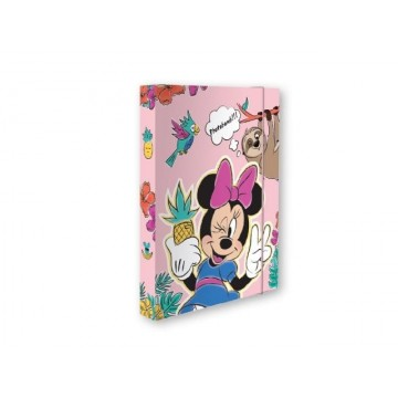 Кутия с ластик 235х315х40 мм, Minnie Mouse