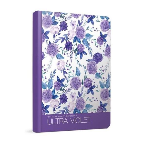 Бележник/тетрадка Ultra Violet, 13 x 21 см., Gipta