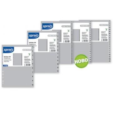 Разделител за папка/класьор с номерация от 1 до 12, PP