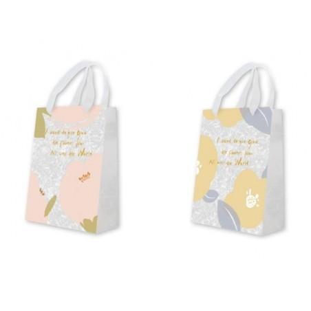 Подаръчна торбичка Flowers, вертикална