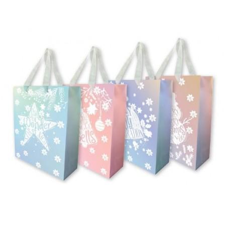 Подаръчна торбичка Christmas, верикална