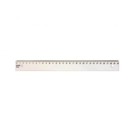 Прозрачна пластмасова линия 30 см., Spree
