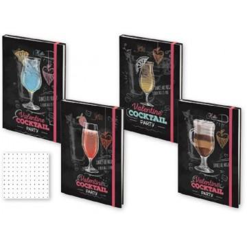 Бележник Cocktail Party, 14 x 20 см., 144 л.