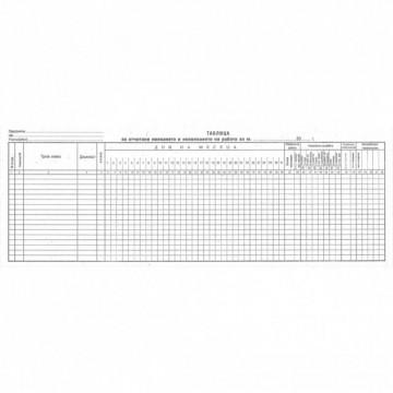 Таблица за отчит. явяването на раб. малка1-1627
