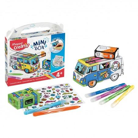 Комплект за оцветяване и сглобяване Maped Creative Mini Van