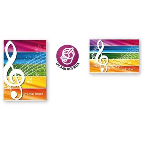 Нотна тетрадка Blasetti А4 и А5 формат