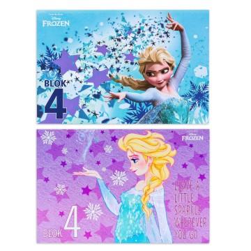 Блок за рисуване №4, Frozen Елза, 10 листа