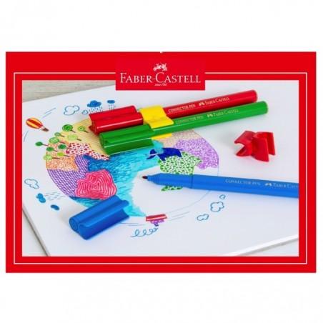 Блок за рисуване №4 Faber-Castell, 10 листа