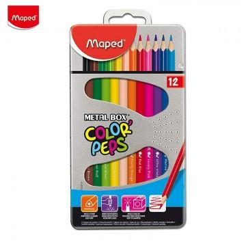 Цветни моливи в метална...