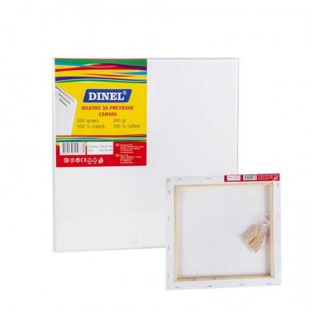 Платно за рисуване 30x30 см, 100% памук, Dinel