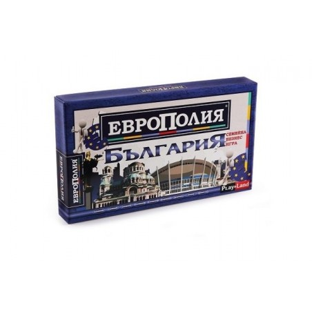 """Настолна игра """"Европолия България"""", малка"""