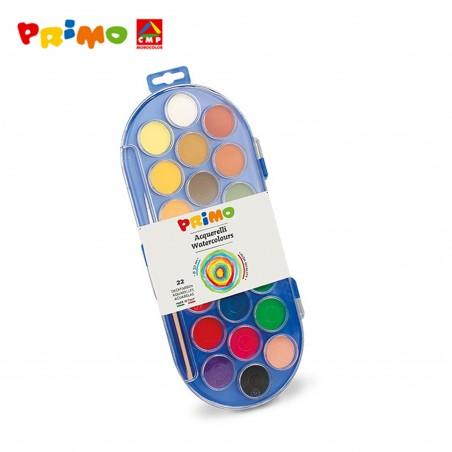 Акварелни бои Primo, 22 цвята