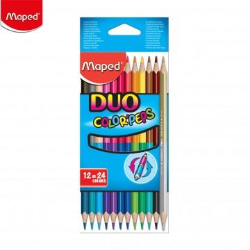 Цветни двувърхи моливи...
