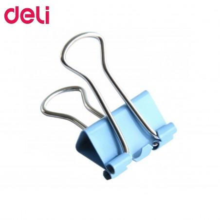 Цветна метална щипка, Deli