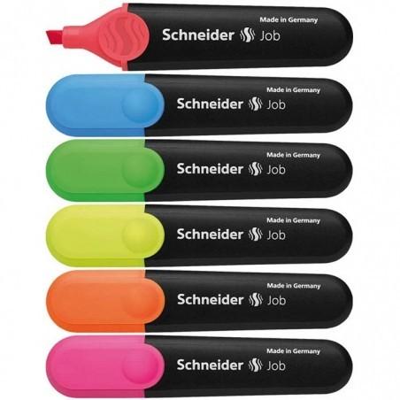 Текст маркер Schneider Job