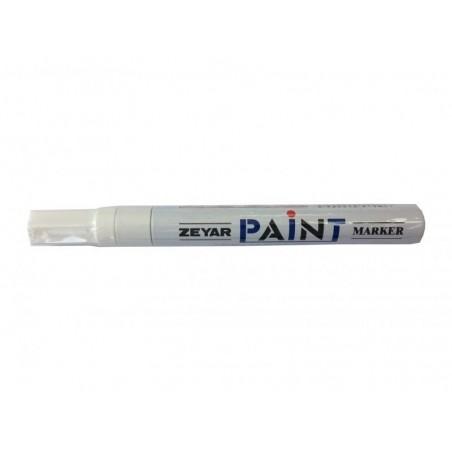 Бял лаков маркер GXIN 2 мм