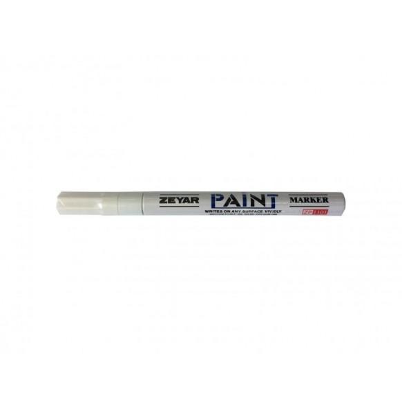 Лаков маркер GXIN 1мм, бял